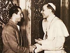 Gino møter Pius XII