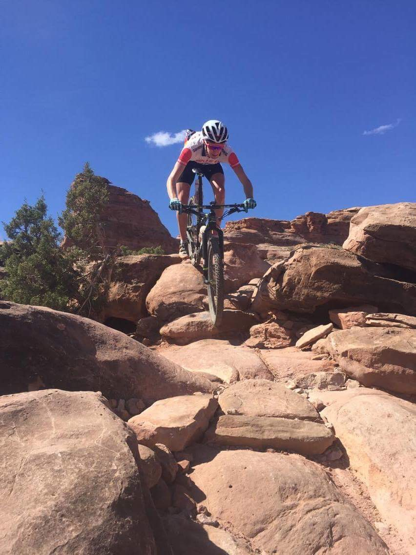 Sykkeltur i Moab