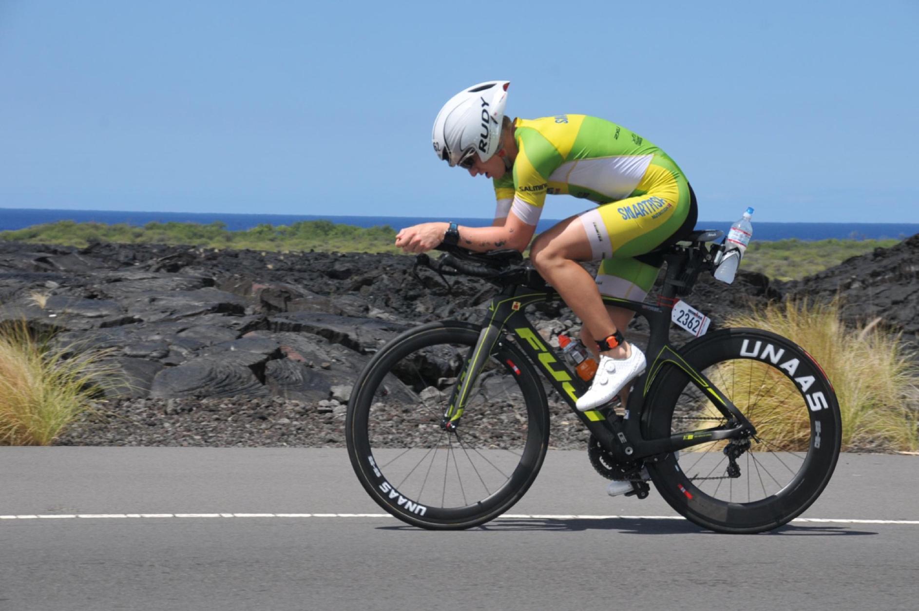 Ironman - Hans Christian Tungesvik på temposykkel