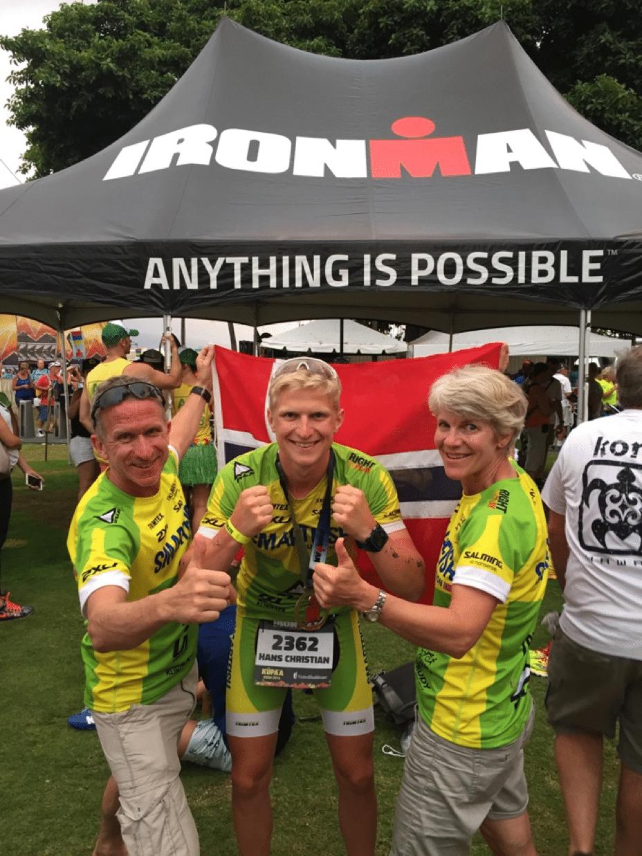 Vinner av Ironman 2016