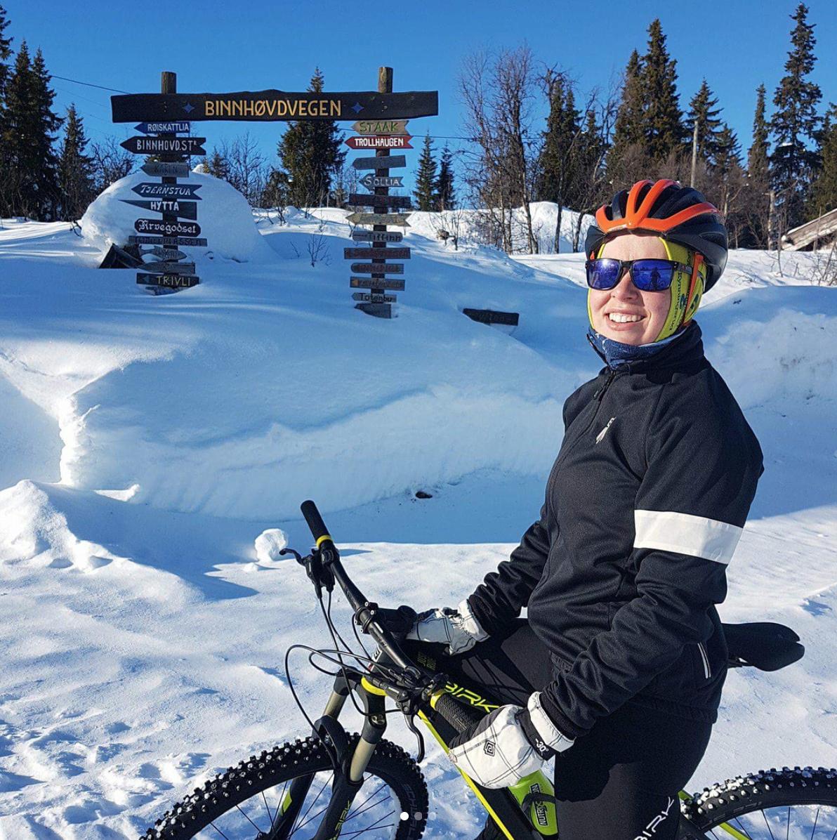 Alternativ trening for syklister på vinteren