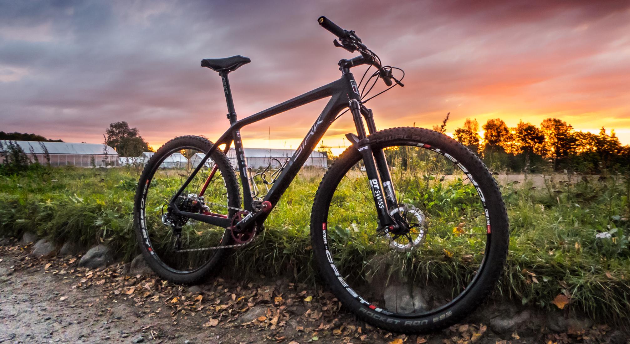 Rammestørrelse og innstilling av sykkel