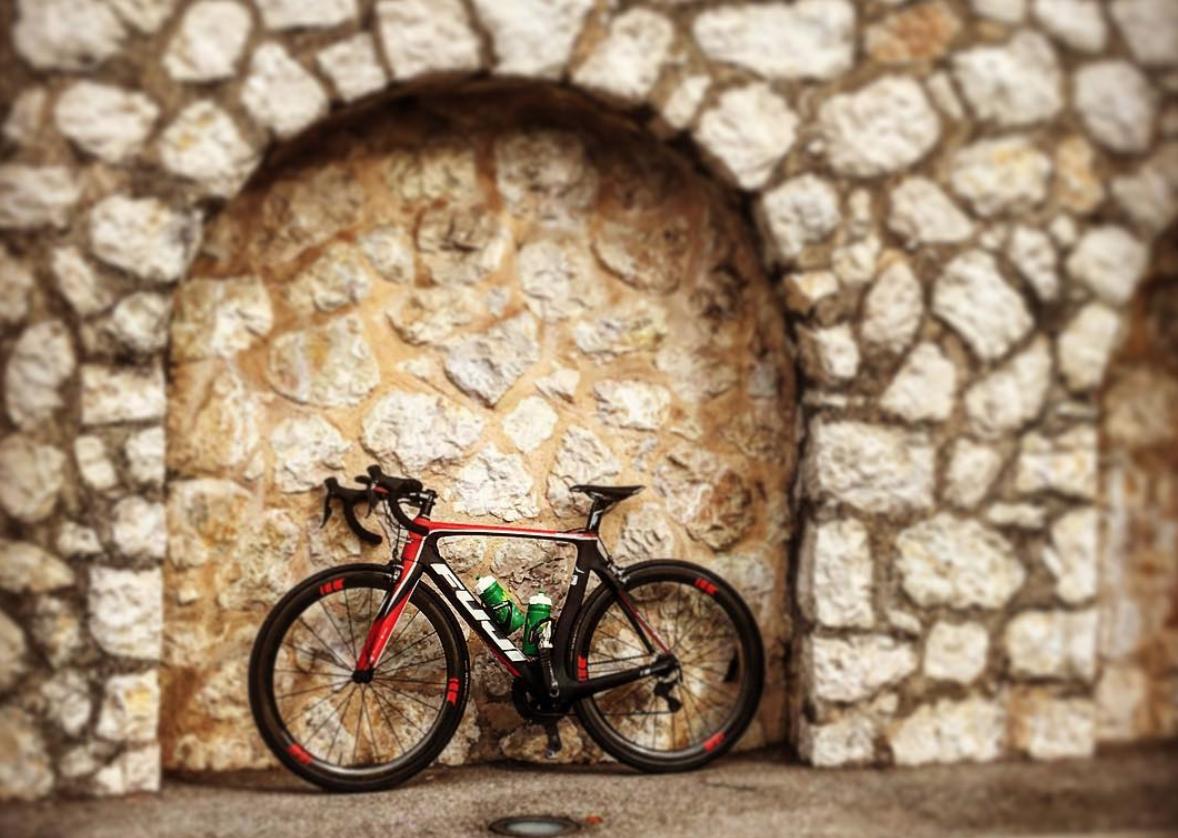Sykkelrute i Frankrike - En av mine favoritter