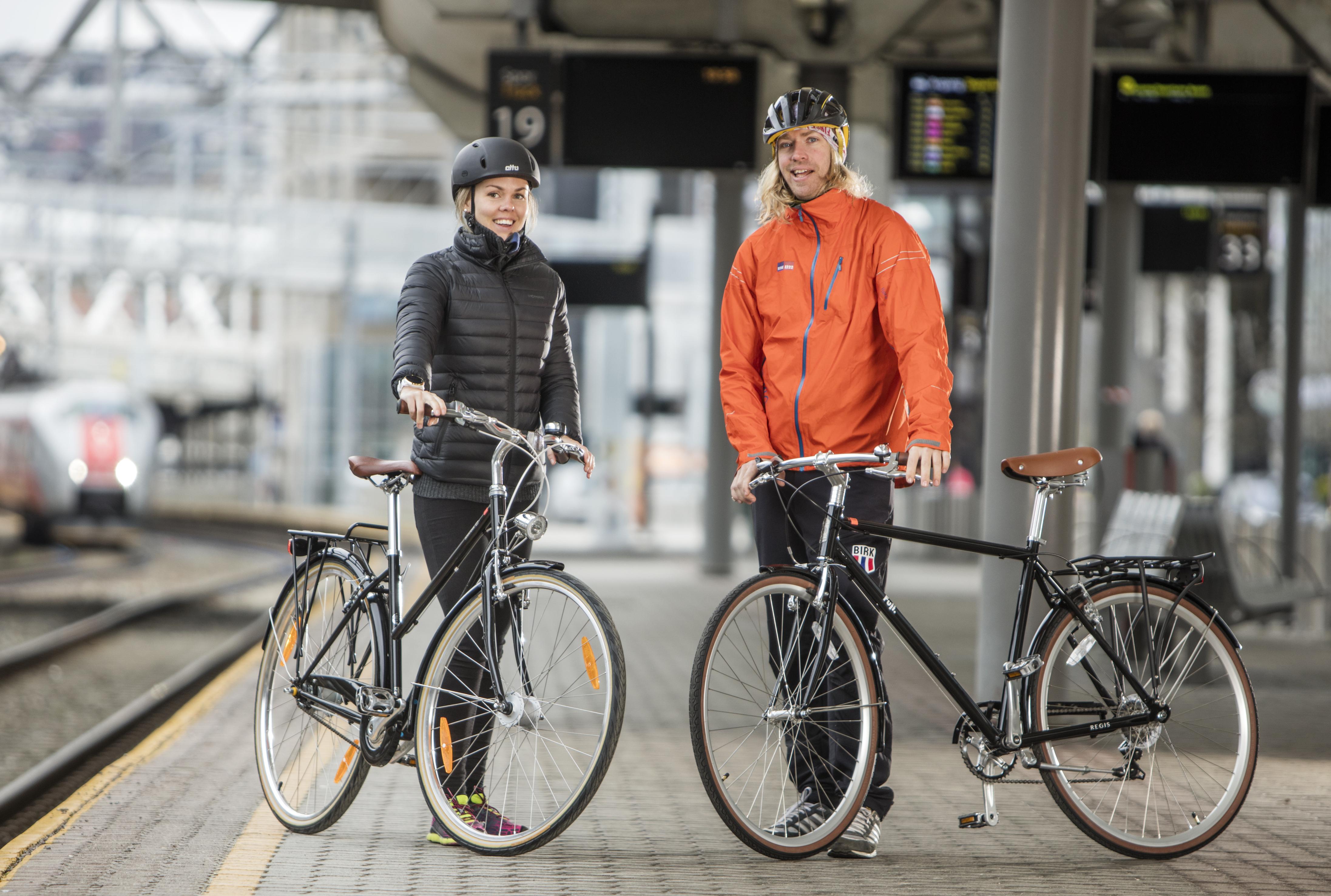 Jobbsykling - Så mye kan du spare på å sykle til jobb