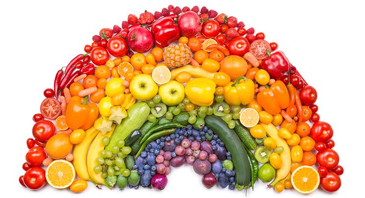 Spis regnbuen - Slik får du variasjon i kosten