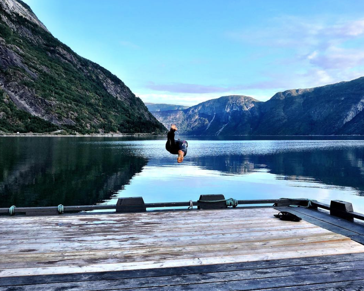 Et lite stykke Norge - Sykkeltur fra Drammen til Voss