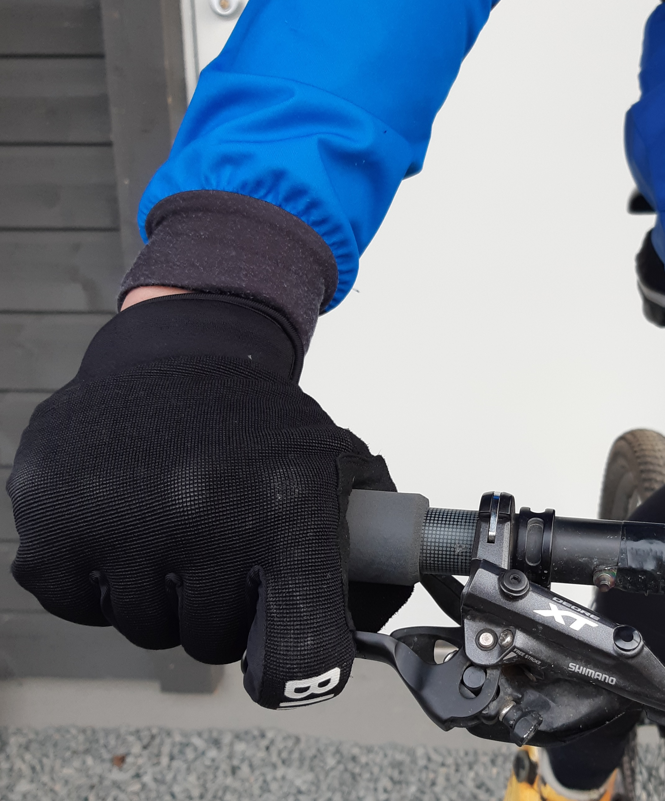 Innstilling av styre og hendler på sykkelstyre (MTB)