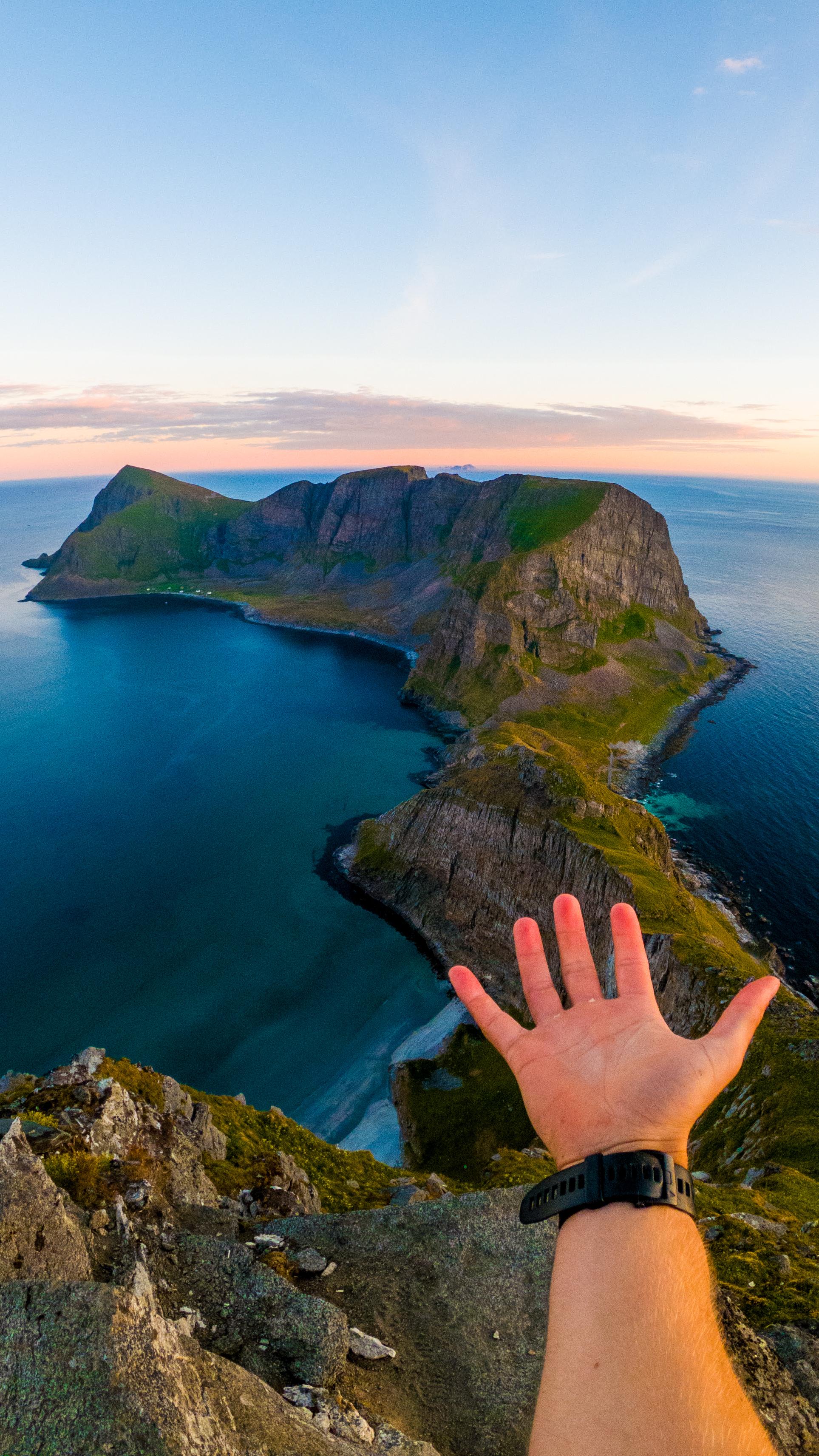 Norge på langs - Nordkapp til Lindesnes på sykkel